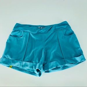New Balance teal shorts